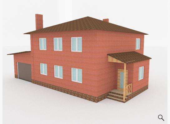 Готовый проект дома 1-14